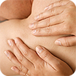 Photo of patient receiving chiropractic care